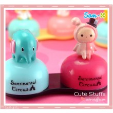 Kawaii Rilakkuma Charm Contact Lens Case - Sentimental Circus