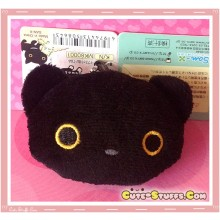 Kawaii RARE Plush Kutsushita Nyanko Cat Phone Strap w/ Dust Plug!