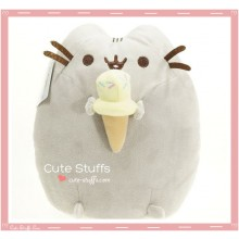 Kawaii Pusheen Plush with Ice Cream!