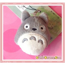 Kawaii RARE Plush Totoro Phone Strap w/ Dust Plug!