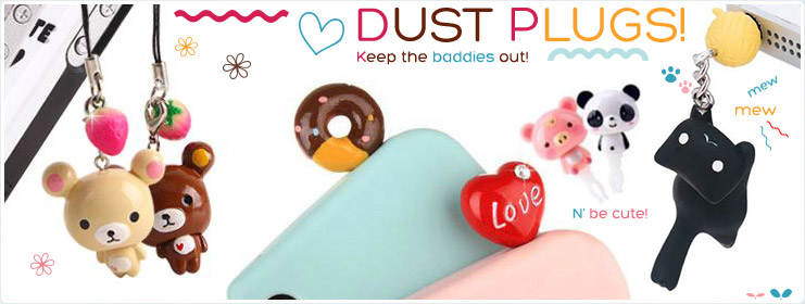 Adorable Dust Plugs!